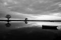 podvecer na jazere
