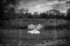 anjel s krídlami z vody