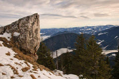 vrchol Poludnice