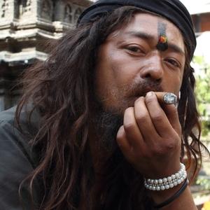 """Svätý muž"" v Kathmandu"