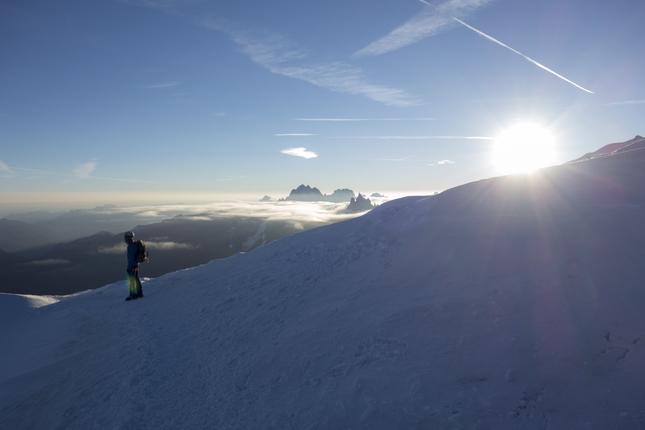 Aiguille du Midi nad Chamonix