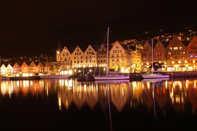 Nočný Bergen