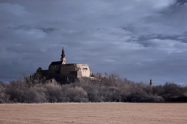 Nitriansky hrad IR