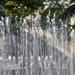 svetlo zamotané do fontány