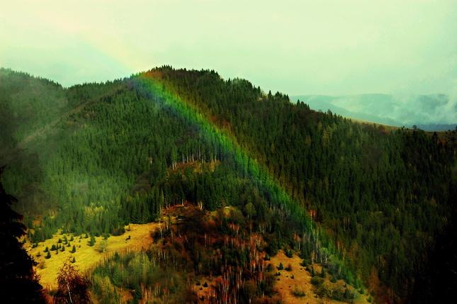 duhový kopec