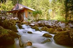 vodopád pod mlynom