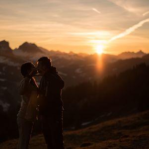 láska v Alpách