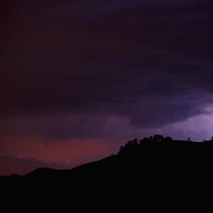 búrka  nad Emmentálom