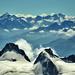 Pohľad od Mont Blancu