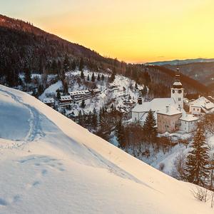 Špania dolina v zime II.