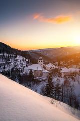 Zima v Španej doline