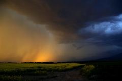 Búrka nad Liptovom