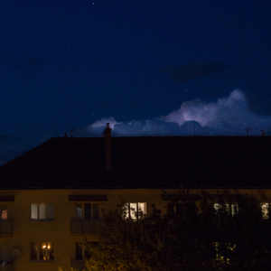 Malá nočná búrka ...