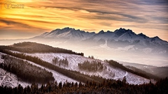 Tatranská scenéria