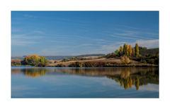 jeseň na rybníku...