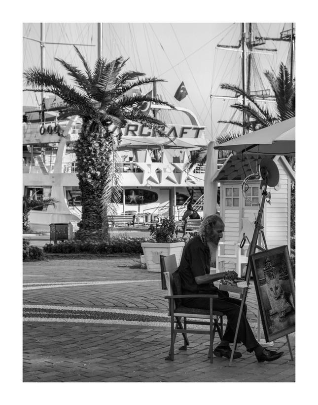pouličný umelec