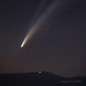 Chopok a kométa Neowise