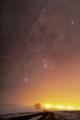 Keď cez hmlu vesmír presvitá ...