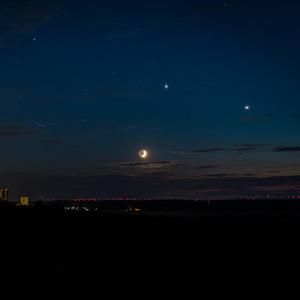 Traja králi večernej oblohy