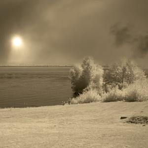Slnce v mrakoch