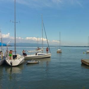 Lode v prístave