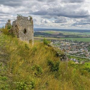 Z hradu Turňa