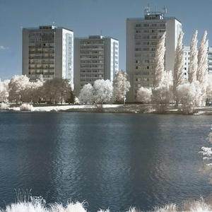 IR foto jazera