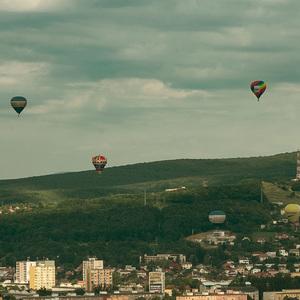 Balóny nad mestom