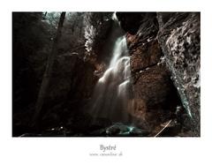vodopád Bystré IR