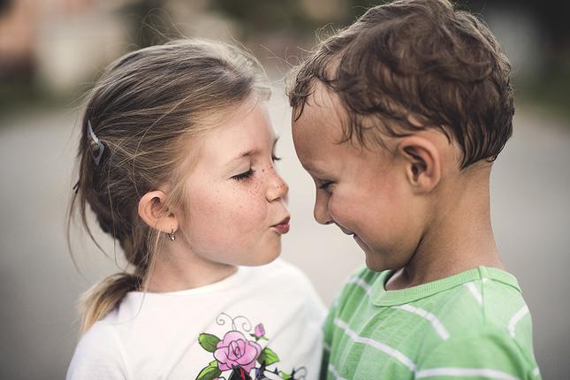 Dětská láska :)
