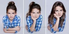 blue blue blue girl