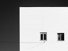 Fasáda s oknami