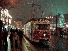 Veselé Vianoce ... v meste