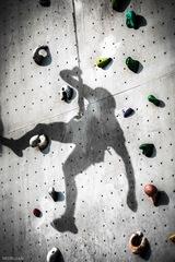 na lezeckej stene