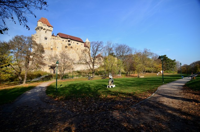 Cestička k hradu