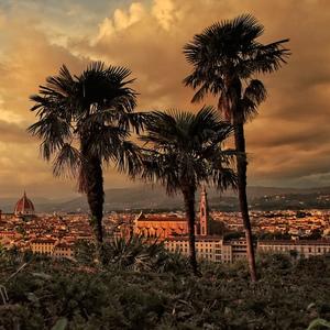 Podvečerná Florencia