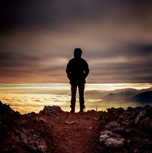 Na horách po východe slnka