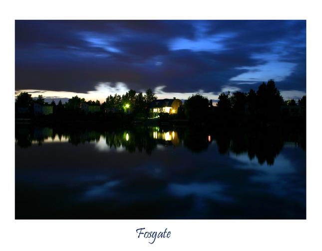 Noc na jazere