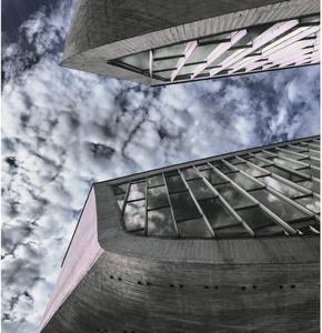 Obloha nad pamätníkom SNP