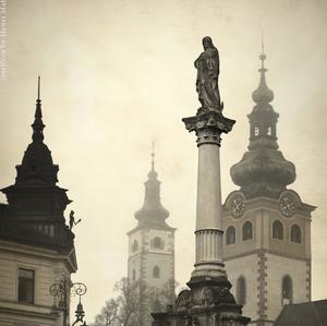 morovy stlp v banskej Bystrici