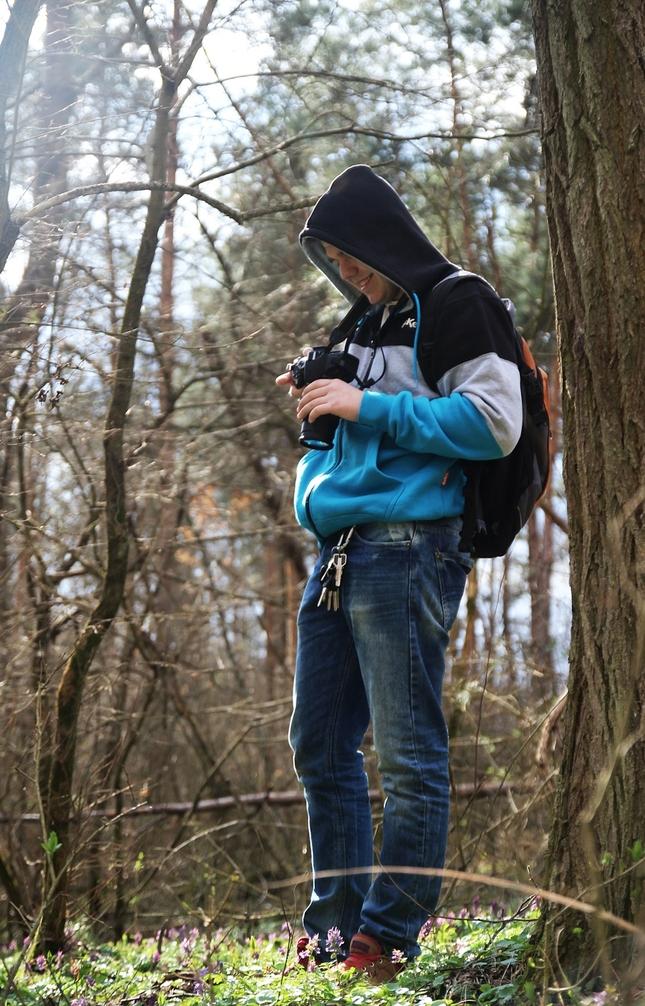 Fotografovanie v lese