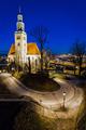 * Nočný Salzburg z ruky II *
