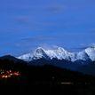 Večerné Alpy