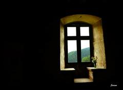 pohľad z niekoľkostoročného okna