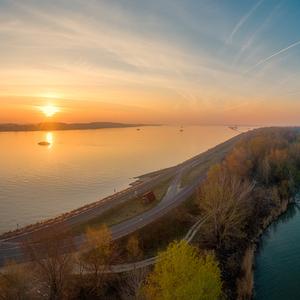 ráno pri Dunaji