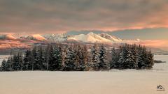 ráno pod Tatrami
