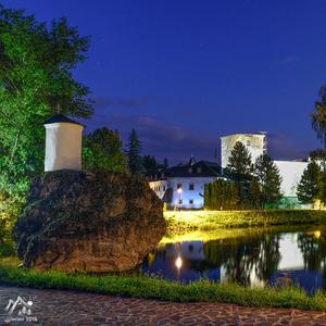 nočný hrad
