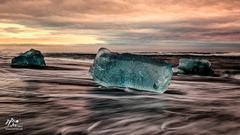 na ľadovej pláži