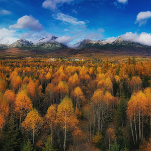 jesenné Tatry