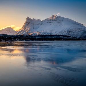 ráno za polárnym kruhom